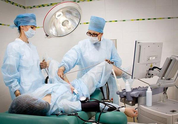 Операция на шейке матки