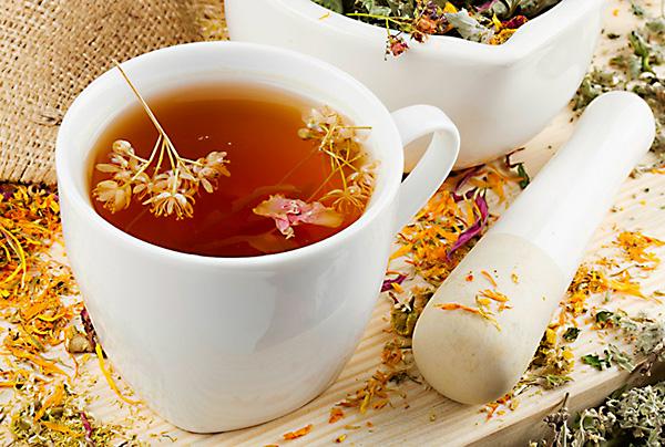Травяные чаи при эрозии