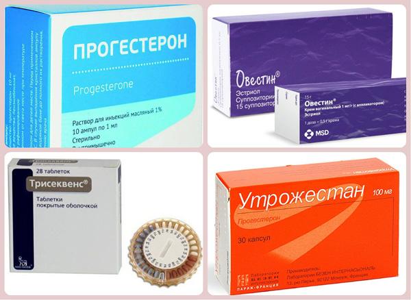 Гестагенные препараты