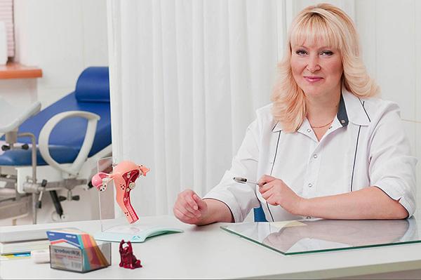 Приём у гинеколога