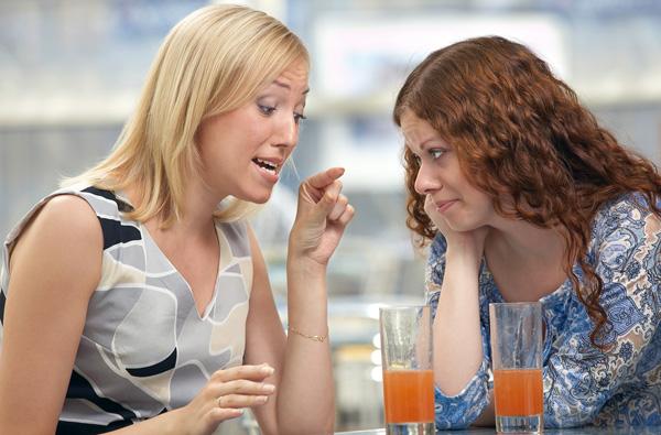 Советы подруг иногда лишь вредят