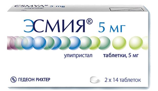 Эсмия в лечении миомы
