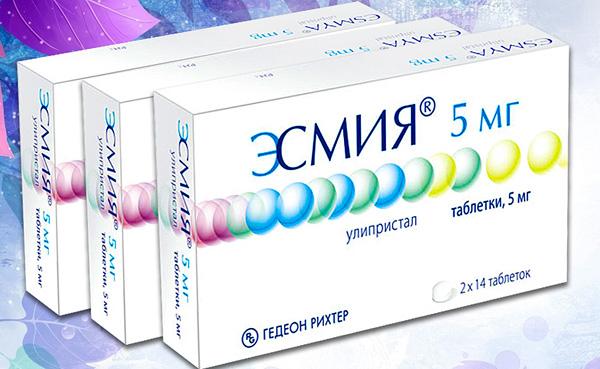 Эсмия в медикаментозном лечении миомы