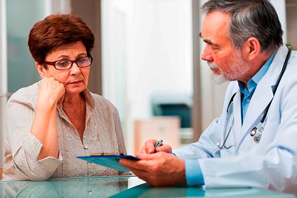 Обсуждение с врачом возможных вариантов удаления опухоли
