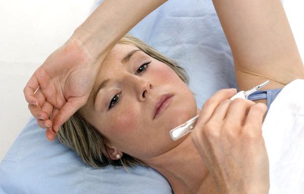 Температура тела при воспалении кистозного образования повышается