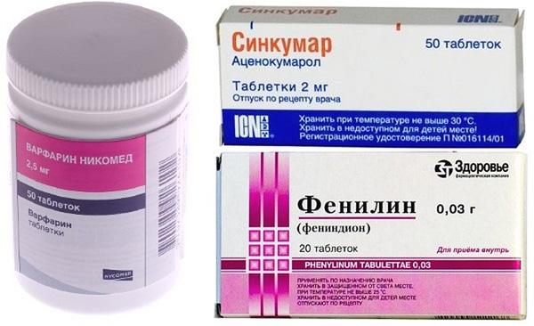 Разжижающие кровь препараты следует принимать только после согласования с врачом