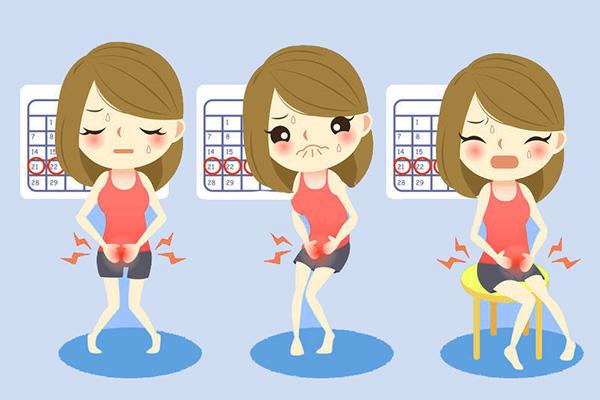 Сильные боли при менструации