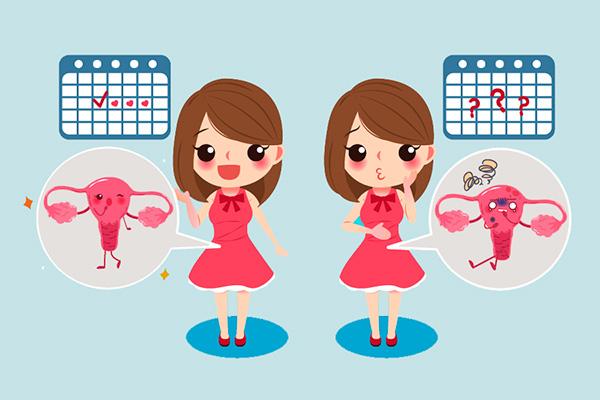 Нарушения менструального цикла при функциональном образовании на яичнике