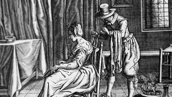 Лечение пиявками в Средние века