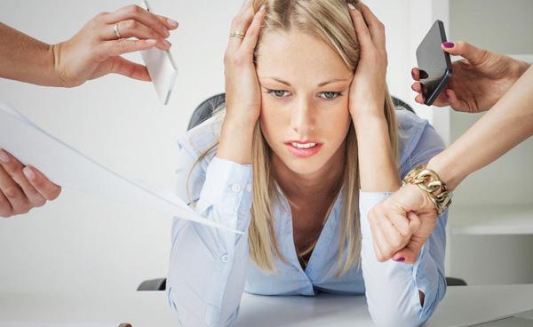 Киста яичника на фоне стресса