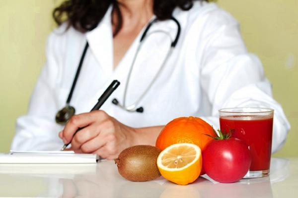 Консультация диетолога при лечении кисты яичника