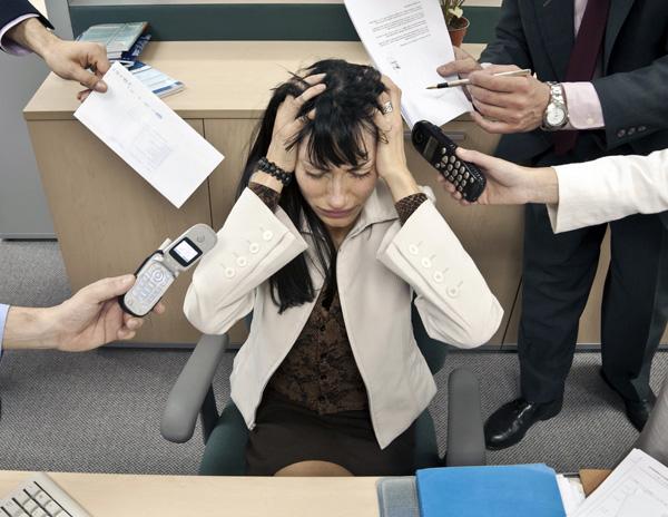 Стресс является одной из причин возникновения расстройства репродуктивного здоровья женщины