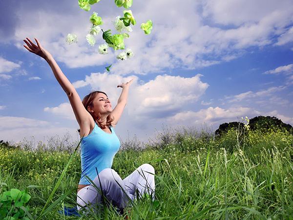 Позитивное мышление и гармония с окружающим миром помогают в лечении женских заболеваний