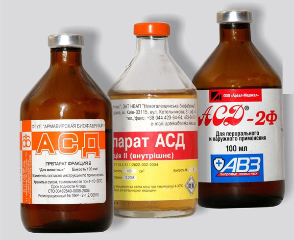 Фракция АСД при лечении кисты не рекомендована