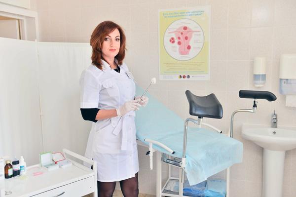 Осмотр у гинеколога необходимо проходить каждые полгода