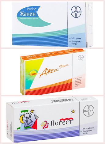 Гормональные препараты при кистах на шейке матки
