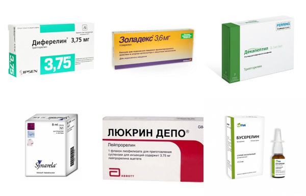 Препараты гонадотропин-рилизинг гормона