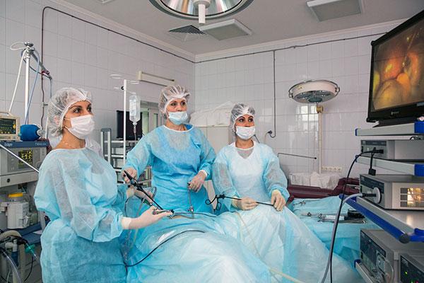 Визанна после операции