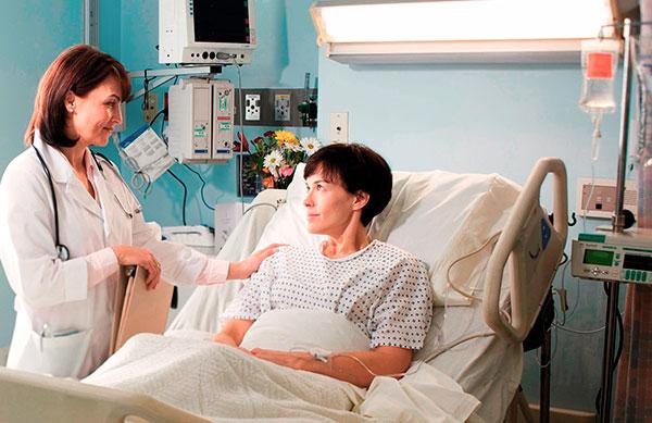 Контроль за пациенткой после удаления матки при эндометриозе