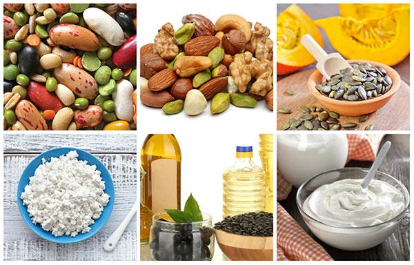 Продукты, способствующие выработке эстрогенов, которые нежелательны при эндометриозе