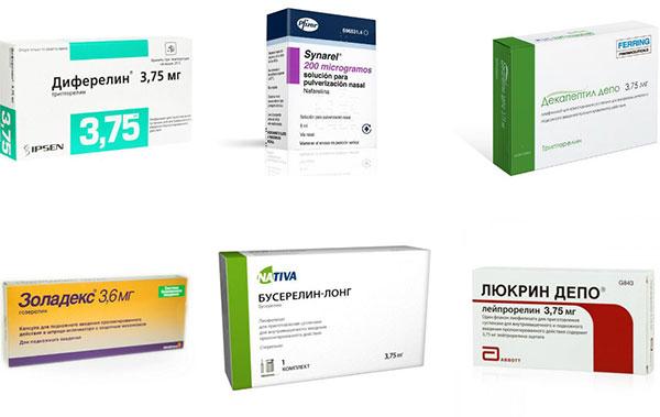 Препараты агонисты гонадотропин-рилизинг гормона при эндометриозе