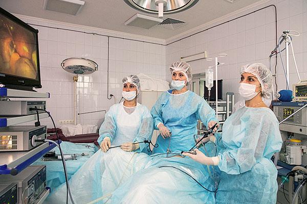 Гирудотерапия после лапароскопии