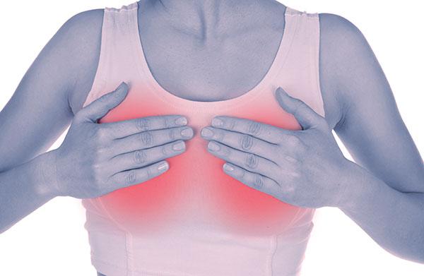 Побочный эффект от Ярины - набухание груди
