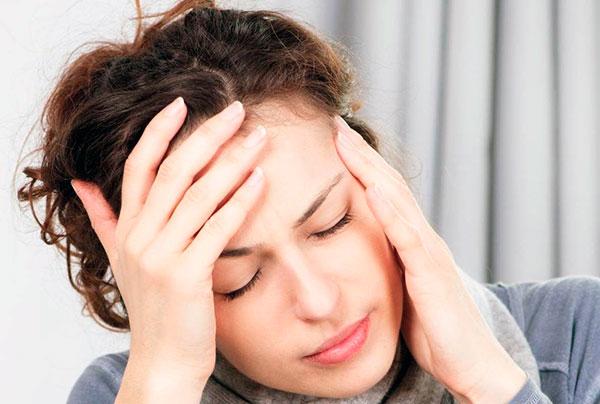 Головная боль как побочный эффект от применения Гн-РГ