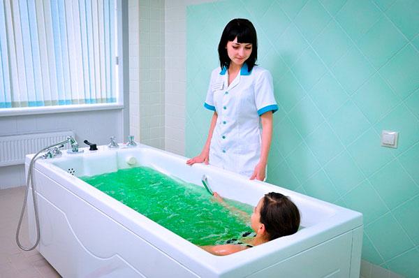 Радоновые ванны при миоме и эндометриозе