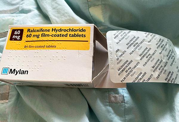 Ралоксифен при миоме в постменопаузу
