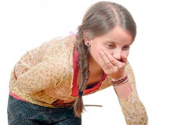 Тошнота у девочки при эндометриозе