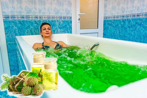 Хвойные ванны при эндометриозе