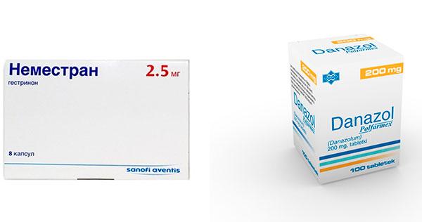 Препараты для лечения миомы с мастопатией