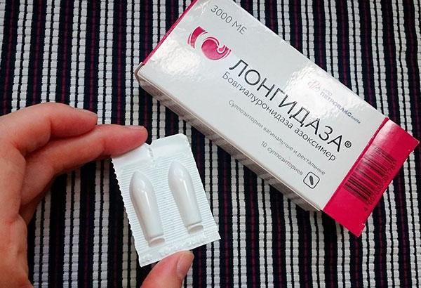 Ферментный препарат Лонгидаза при кисте яичника