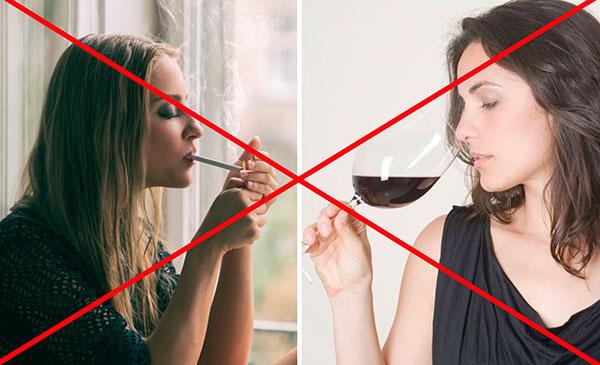 Запрет алкоголя и табака перед сдачей крови на онкомаркер