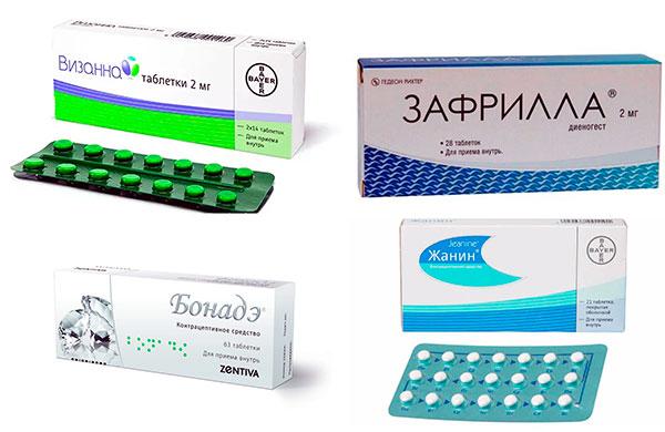 Лекарства с диеногестом для лечения эндометриоза